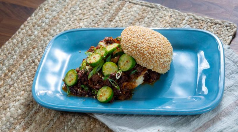 Korean-Inspired Sloppy Joes and Quick Pickles
